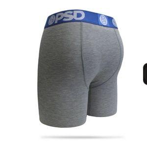 PSD Underwear & Socks - Ultra Soft PSD Longer Boxer Brief Workout